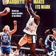 Marquette Butch Lee, 1977 Ncaa National Championship Sports Illustrated Cover Art Print