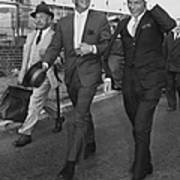 Martin And Sinatra Art Print