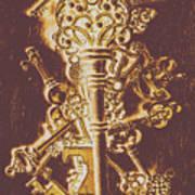 Master Key Art Print