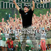 Masterstroke Mickelson Wins His First Major Sports Illustrated Cover Art Print