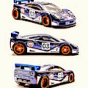 Mclaren F1 Gtr Art Print