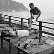 Mcqueen & Adams Relax In Big Sur Art Print