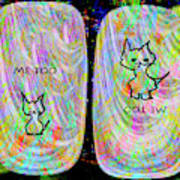 Me Too Cats Art Print
