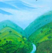 Medellin Natural Art Print