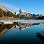 Medicine Lake, Jasper National Park Art Print