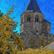 Medieval Bell Tower 3 Art Print