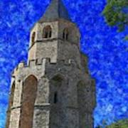 Medieval Bell Tower 4 Art Print