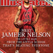 Meet Jameer Nelson The Little Man From The Little School Sports Illustrated Cover Art Print