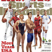 Meet Team Usa 2016 Rio Olympic Games Preview Sports Illustrated Cover Art Print