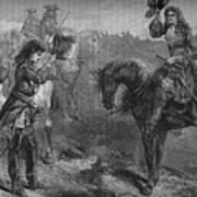 Meeting Of William IIi And The Duke Art Print