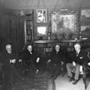 Members Of Versailles Conference Art Print