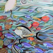Memory Of The Coral Reef Art Print