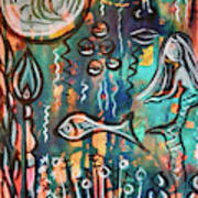 Mermaids Dream Art Print