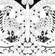 Metamorphosis Arrangement 1 Art Print