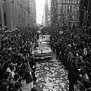 Mets Ticker Tape Parade Art Print