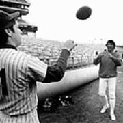 Mets Tom Seaver Warms Up Jets Joe Art Print