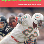 Miami Dolphins Mercury Morris, 1972 Afc Championship Sports Illustrated Cover Art Print
