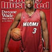 Miami Heat Dwyane Wade Sports Illustrated Cover Art Print