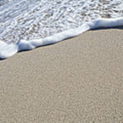 Miami South Beach Sand And Surf Art Print
