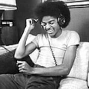 Michael Jackson, The Lead Singer Of Art Print