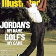 Michael Jordan, 1989 St. Jude Classic Sports Illustrated Cover Art Print
