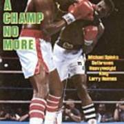 Michael Spinks, 1985 Ibf Heavyweight Title Sports Illustrated Cover Art Print