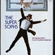 Michigan State Magic Johnson, 1978 College Basketball Sports Illustrated Cover Art Print