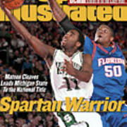 Michigan State University Mateen Cleaves, 2000 Ncaa Sports Illustrated Cover Art Print