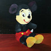Mickey 1965 Art Print