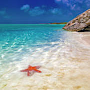 Middle Caicos Tranquility Awaits Art Print