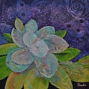 Midnight Magnolia I Art Print