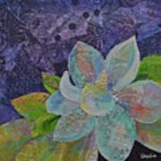 Midnight Magnolia II Art Print