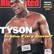 Mike Tyson Is The Fury Gone Sports Illustrated Cover Art Print