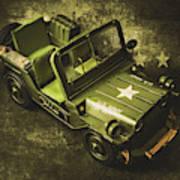 Military Green Art Print