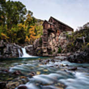 Mill On Crystal River Art Print