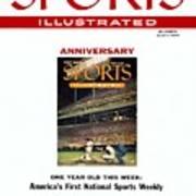 Milwaukee Braves Eddie Mathews Sports Illustrated Cover Art Print