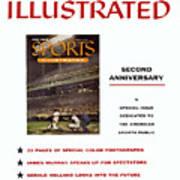 Milwaukee Braves Eddie Mathews... Sports Illustrated Cover Art Print