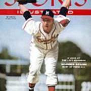 Milwaukee Braves Warren Spahn... Sports Illustrated Cover Art Print