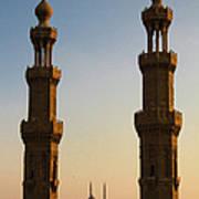 Minarets Art Print