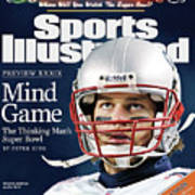 Mind Game The Thinking Mans Super Bowl Xxxix Preview Sports Illustrated Cover Art Print