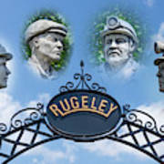 Miners Of Rugeley Art Print