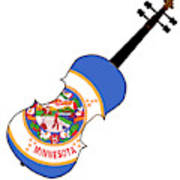 Minnesota State Fiddle Art Print