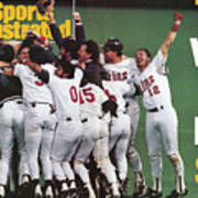 Minnesota Twins, 1991 World Series Sports Illustrated Cover Art Print