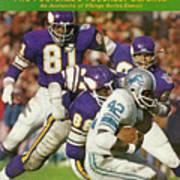 Minnesota Vikings Defense Sports Illustrated Cover Art Print