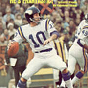 Minnesota Vikings Qb Fran Tarkenton... Sports Illustrated Cover Art Print