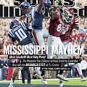 Mississippi Mayhem The Weekend The College Football Sports Illustrated Cover Art Print