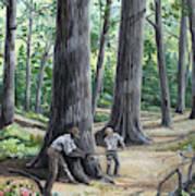 Mississippi Sawyer Art Print