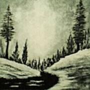 Misty Dawn Number Three Art Print