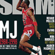 MJ 1984-1998: The Best There Ever Was. The Best There Ever Will Be. SLAM Cover Art Print