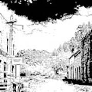 Mogollon New Mexico Ghost Town Art Print